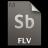 Adobe Soundbooth FLV Icon 48x48 png