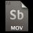 Adobe Soundbooth MOV Icon
