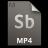 Adobe Soundbooth MP4 Icon