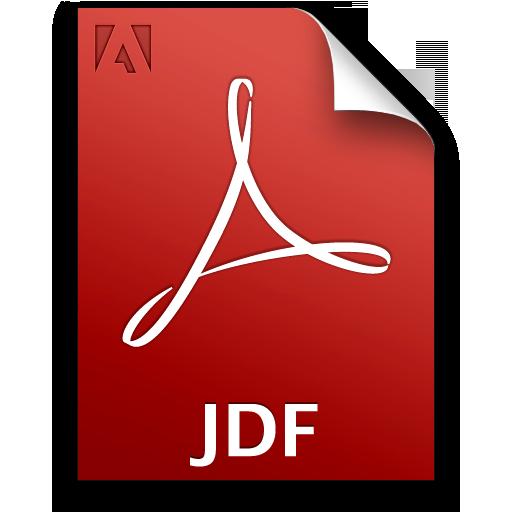 Adobe Acrobat Pro JDF Icon 512x512 png