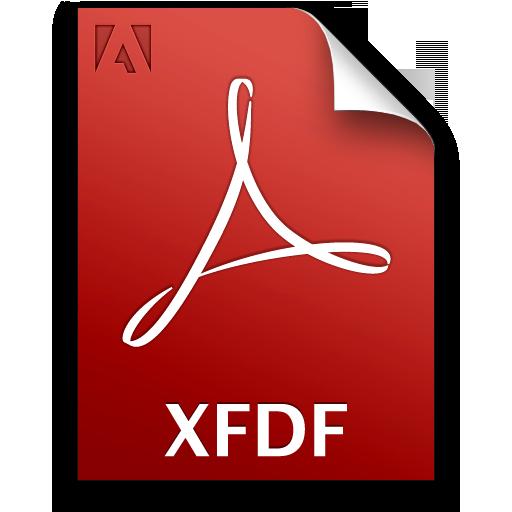 Adobe Acrobat Pro XFDF Icon 512x512 png