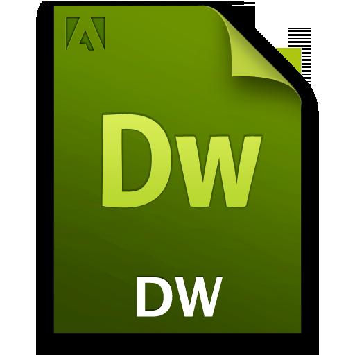 Adobe Dreamweaver File Icon 512x512 png
