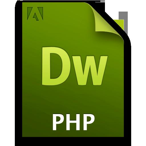 Adobe Dreamweaver PHP Icon 512x512 png