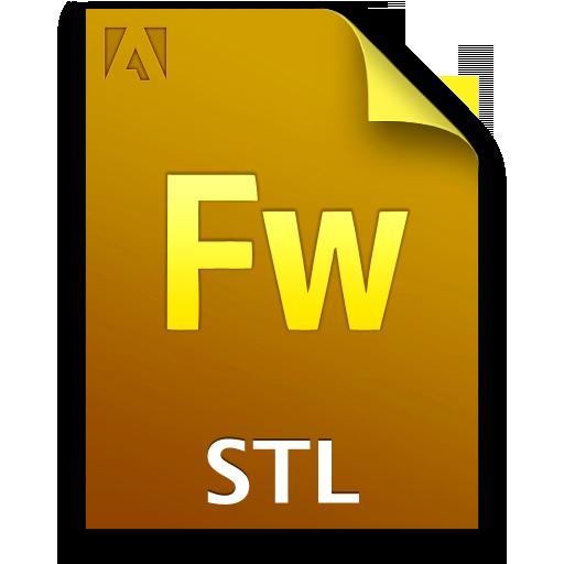 Adobe Fireworks STL Icon 512x512 png