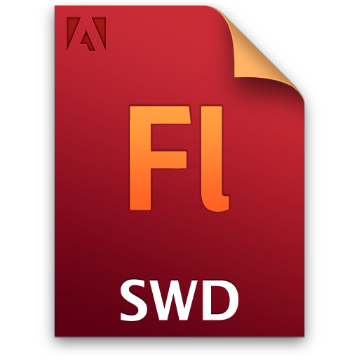Adobe Flash SWD Icon 512x512 png