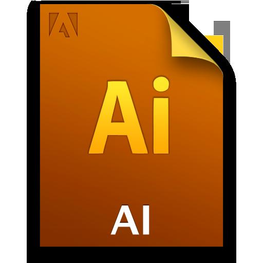 Adobe Illustrator File Icon 512x512 png
