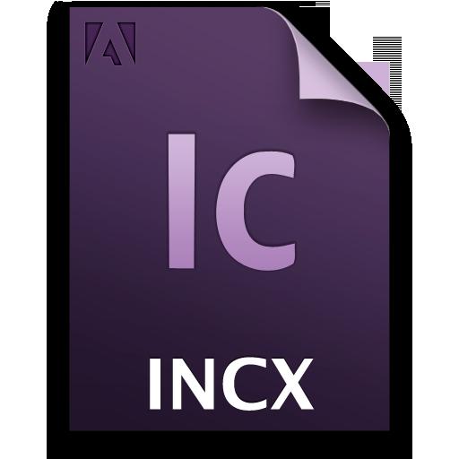 Adobe InCopy INCX Icon 512x512 png