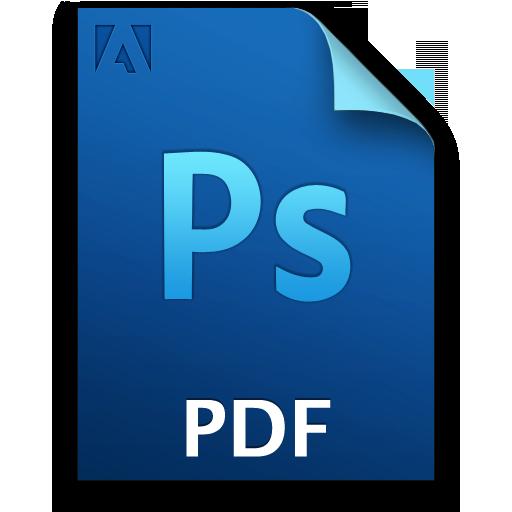 pdf icon png. Adobe Photoshop PDF Icon