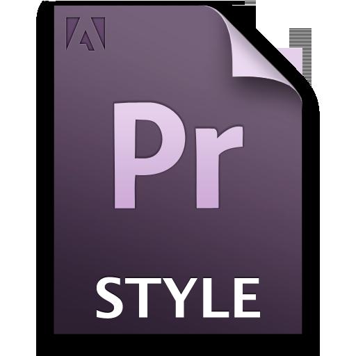 Adobe Premiere Pro STYLE Icon 512x512 png