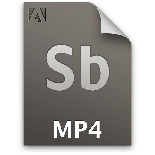 Adobe Soundbooth MP4 Icon 512x512 png