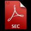 Adobe Acrobat Pro SEC Icon 64x64 png