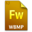 Adobe Fireworks WBMP Icon 64x64 png