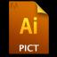 Adobe Illustrator PICT Icon 64x64 png
