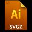 Adobe Illustrator SVGZ Icon 64x64 png