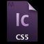 Adobe InCopy CS5 Icon 64x64 png