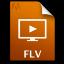 Adobe Media Player FLV Icon 64x64 png