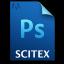 Adobe Photoshop Scitex Icon 64x64 png