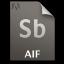 Adobe Soundbooth AIF Icon 64x64 png