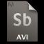 Adobe Soundbooth AVI Icon 64x64 png