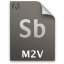 Adobe Soundbooth M2V Icon 64x64 png