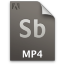 Adobe Soundbooth MP4 Icon 64x64 png