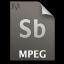 Adobe Soundbooth MPEG Icon 64x64 png
