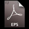 Adobe Distiller EPS Icon 96x96 png