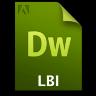 Adobe Dreamweaver LBI Icon 96x96 png