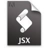 Adobe ExtendScript Toolkit JSX Icon 96x96 png