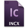 Adobe InCopy INCX Icon 96x96 png
