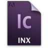 Adobe InCopy INX Icon 96x96 png