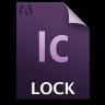 Adobe InCopy Lock Icon 96x96 png