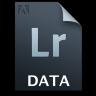 Adobe Lightroom Gray Icon 96x96 png