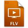 Adobe Media Player FLV Icon 96x96 png