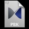 Adobe Pixel Bender Toolkit PBK Icon 96x96 png