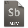 Adobe Soundbooth M2V Icon 96x96 png