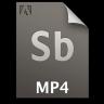 Adobe Soundbooth MP4 Icon 96x96 png