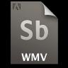 Adobe Soundbooth WMV Icon 96x96 png