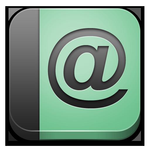 address book icon bloc icons softiconscom