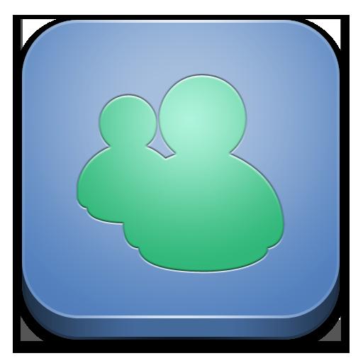 microsoft messenger icon - bloc icons