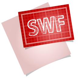 SWF File Icon 256x256 png