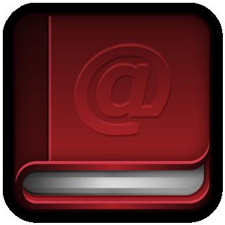 address book icon books icons softiconscom