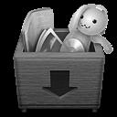 Grey Boxdrop Icon