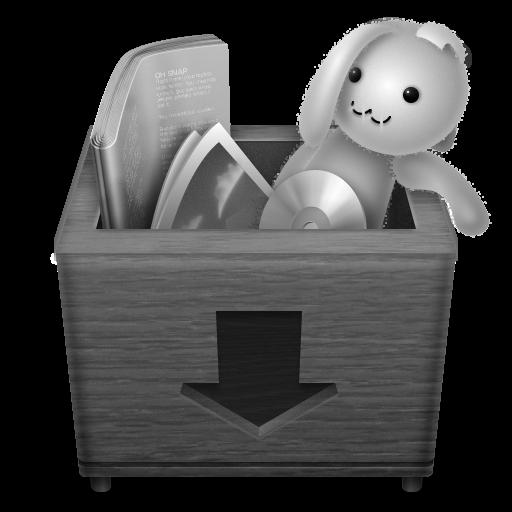 Grey Boxdrop Icon 512x512 png