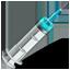 Syringe Icon 64x64 png