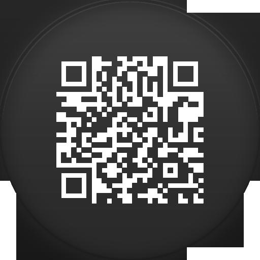 QR Code Icon - Circle Icons - SoftIcons.com