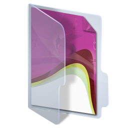 Folder InDesign CS3 Icon 256x256 png
