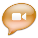 iChat Peach Icon