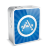 iPhone 4 White Art Icon