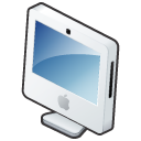 Comp iMac Icon 128x128 png